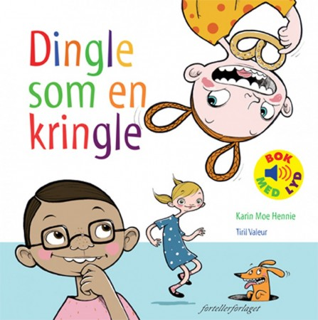 Dingle som en kringle  -  Bok med lyd