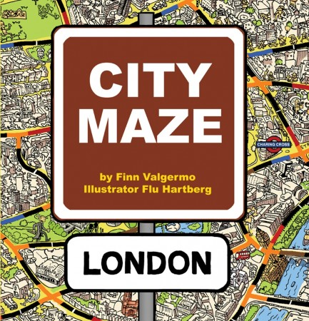 City Maze - London - Bok